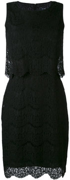 Armani Jeans lace trim dress