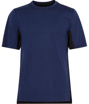 Nike Training Essentials Panelled Wool-Blend And Dri-Fit T-Shirt