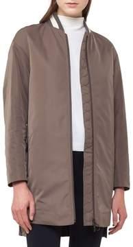 Akris Punto Techno Bomber Coat
