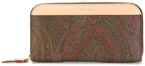 Etro small paisley wallet
