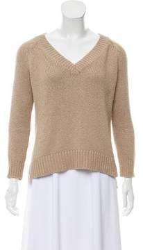 Brochu Walker Contrasted Long Sleeve Sweater