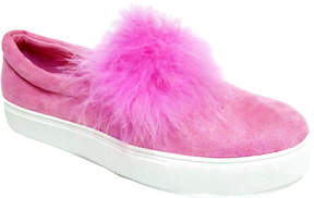 Penny Loves Kenny Women's Arty Pom Pom Slip-On Sneaker