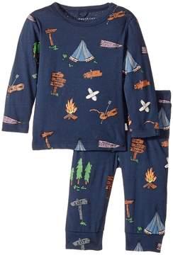 Stella McCartney Georgie+Macy Campsite Printed Top+Leggings Set Boy's Suits Sets