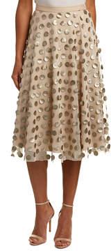 Eva Franco A-Line Midi Skirt