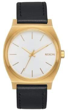 Nixon A045-2667 Black 37mm Stainless Steel Time Teller Mens Watch