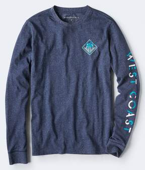 Aeropostale Long Sleeve West Coast Graphic Tee