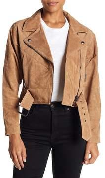Blank NYC BLANKNYC Suede Dolman Moto Jacket