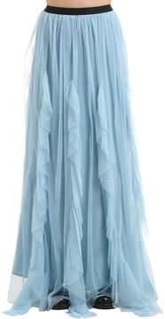 Antonio Marras Ruffled Tulle Long Skirt