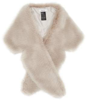 Reiss Penny Faux Fur Collar