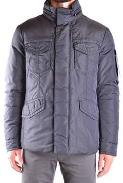 Peuterey Men's Blue Polyamide Outerwear Jacket.