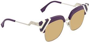 Fendi Waves Square Sunglasses FF 0241/S B3V/GA