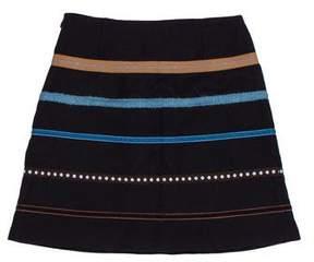 Cacharel Wool A-Line Skirt