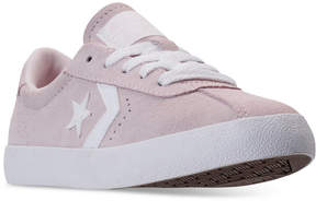 Converse Girls' Breakpoint Suede Casual Sneakers from Finish Line