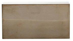 Calvin Klein Collection Gold-tone Metal Box Clutch