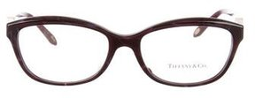 Tiffany & Co. Marble Embellished Eyeglasses w/ Tags