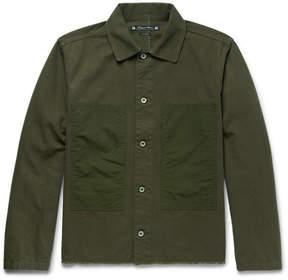 SASQUATCHfabrix. Korosuna Embroidered Herringbone Cotton Jacket