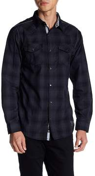 Burnside Contrast Stitch Button Down Shirt