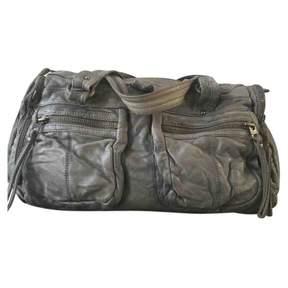 Zadig & Voltaire Blue Leather Handbag