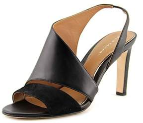 Elie Tahari Harper Open Toe Leather Sandals.