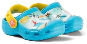 Crocs Blue Disney Frozen Olaf Clogs