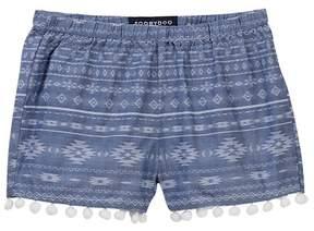 Toobydoo Brielle Printed Pompom Shorts (Toddler, Little Girls, & Big Girls)