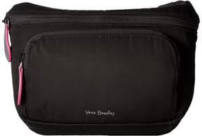 Vera Bradley Midtown Belt Bag Handbags - BLACK - STYLE
