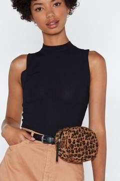 Nasty Gal WANT Woman of the Meow-ment Oval Belt Bag