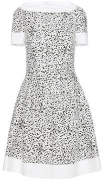Carolina Herrera Printed tweed dress