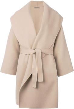 Bottega Veneta waist-wrap coat