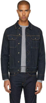 Rag & Bone Indigo Denim Jean Jacket
