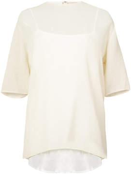 Mansur Gavriel wavy shirt