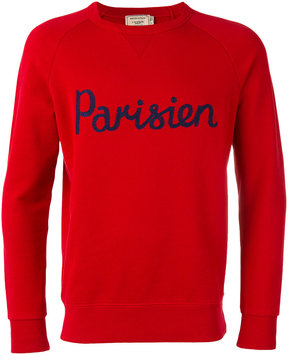 MAISON KITSUNÉ 'Parisien' print sweatshirt