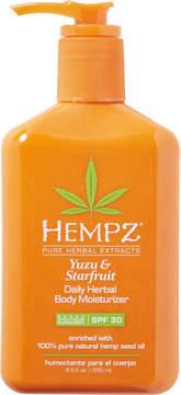 Hempz Yuzu & Starfruit Daily Herbal Body Moisturizer Broad Spectrum SPF 30