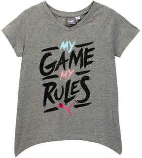 Puma My Games My Rules Tee (Big Girls)