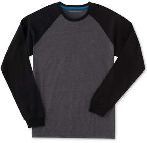 Calvin Klein Raglan Cotton Shirt, Big Boys (8-20)
