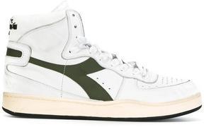 Diadora lace-up hi-top sneakers