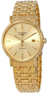 Longines Presence Gold Tone Dial Automatic Men's Watch