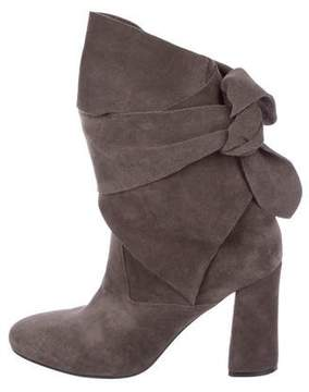Sigerson Morrison Lori Wrap-Around Ankle Boots