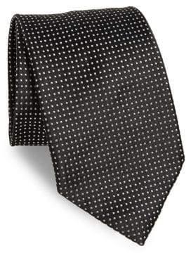 Charvet Micro Pattern Silk Tie