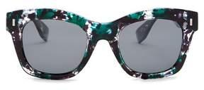 Joe's Jeans 51mm Square Cat Eye Sunglasses