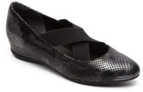 Rockport Etenia Grayson Leather Slip-On Flats