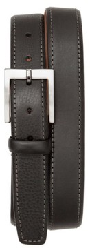 Tommy Bahama Men's Contrast Stitch Leather Belt