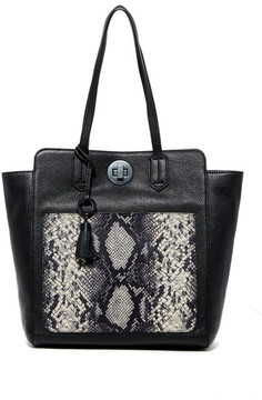 Badgley Mischka Leather Caller Tote
