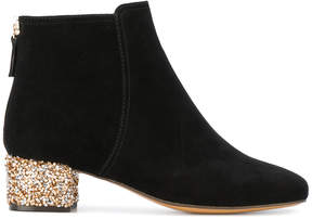 Tila March mid-heel Faucille booties