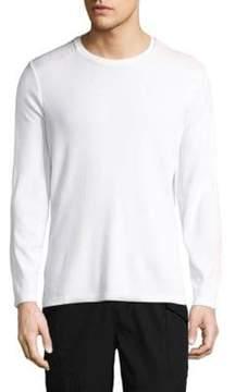 Ovadia & Sons Rib-Knit Long-Sleeve Top