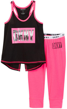 DKNY Capri Sleep Set (LIttle Girls & Big Girls)