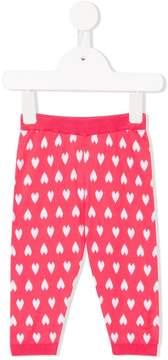 Emporio Armani Kids jacquard pattern trousers