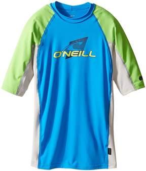 O'Neill Kids - Skins Short Sleeve Crew Kid's Swimwear