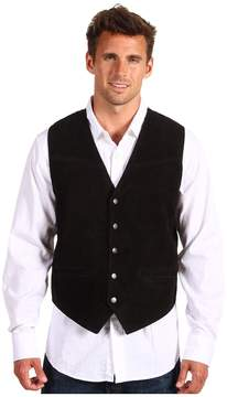Roper Suede Vest with Buckle Back Men's Vest
