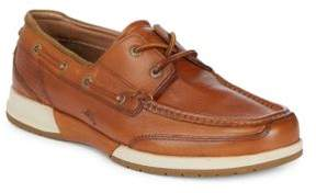 Tommy Bahama Square Toe Leather Loafers